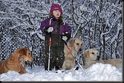 Julie og hundene